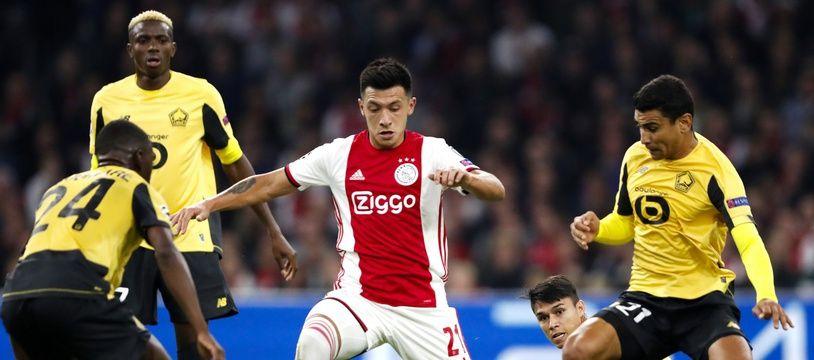 Le Losc et l'Ajax se sont déjà affrontés la saison passée en Ligue des champions