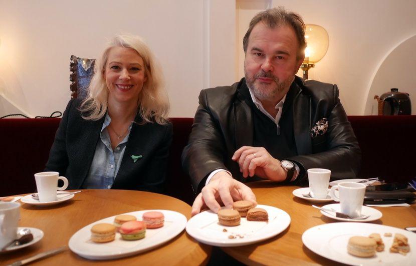 VIDEO. Jour du macaron: Hermé, Hévin, Duchêne et Larher régalent pour la bonne cause