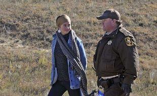 L'actrice Shailene Woodley a été arrêtée le 10 octobre 2016 lors d'une manifestation.