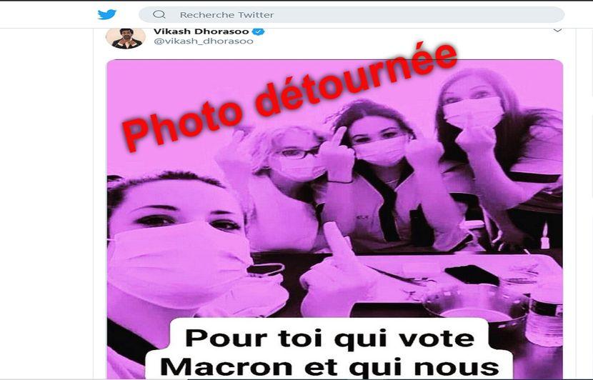 Coronavirus Non Ces Aides Soignantes N Ont Pas Adresse Un Doigt D Honneur Aux Electeurs D Emmanuel Macron