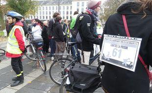 Un marathon contre les violences policières est parti de la préfecture ce dimanche