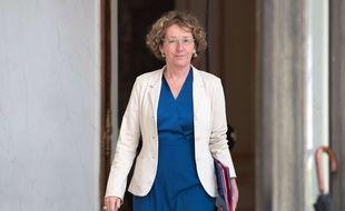 La ministre du Travail et ancienne directrice générale de Business France Muriel Pénicaud, le 28 juin 2017 à l'Elysée.