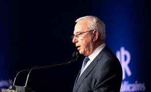 Jean Leonetti lors d'un congrès de LR en 2019 (illustration).