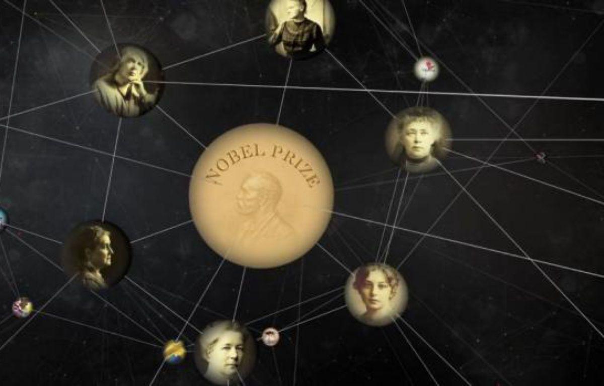Une représentation du «knowledge graph», le «graphe du savoir» de Google. – DR