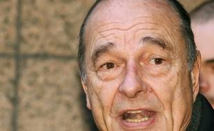 Jacques Chirac, alors président de la République, à Bruxelles le 15 décembre 2006