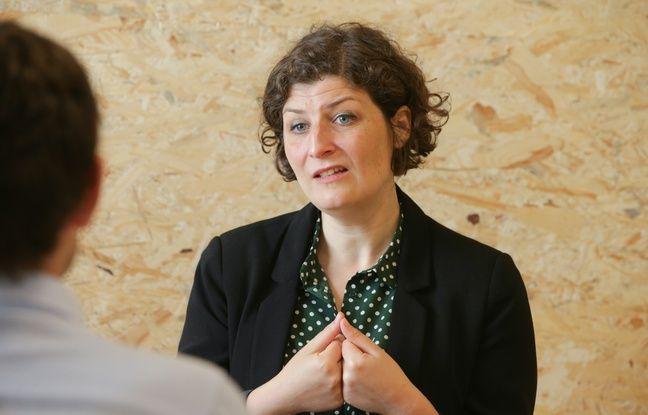 Jeanne Barseghian, candidate EELV aux municipales 2020 à Strasbourg. Le 18 juin 2020.