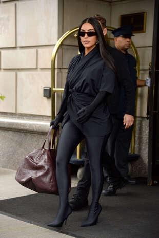 Kim Kardashian, le 5 octobre, à New York.