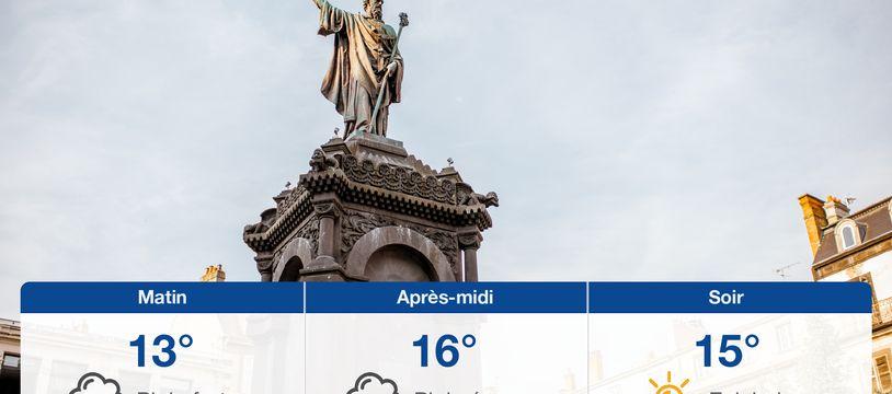 Météo Clermont-Ferrand: Prévisions du jeudi 24 juin 2021