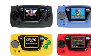 Sega va commercialiser une GameGear Micro