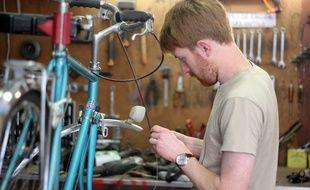 L'atelier de réparation de vélos La Petite Rennes lance sa filière de recyclage Le Grand Cycle.