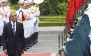 Le président Barack Obama était en visite officielle au Vietnam le 23 mai 2016