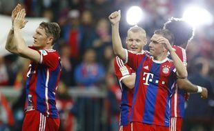 Le Bayern Munich de Lahma été sacré champion d'Allemagne le 26 avril 2015.
