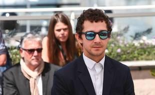 L'acteur Shia LaBeouf au 69e Festival de Cannes