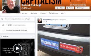 Capture d'écran Facebook/Robert Reich