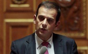 Le sénateur français Philippe Kaltenbach (PS) au Sénat à Paris le 20 décembre 2012