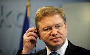 """Les procès politiques sont un problème """"systémique"""" en Ukraine, qui va au-delà du sort de l'ancienne Première ministre emprisonnée Ioulia Timochenko et nécessite une vaste réforme, a estimé mardi la Commission européenne."""