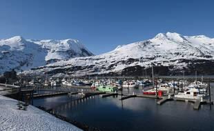 Un port en Alaska.