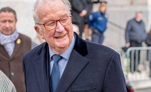 L'ancien roi des Belges Albert II.