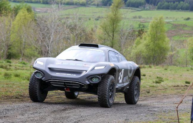 Le Prince William teste un buggy Extreme E