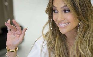 Jennifer Lopez le 23 mars 2015.