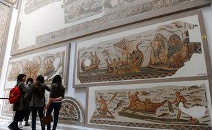 le musée national du Bardo à Tunis