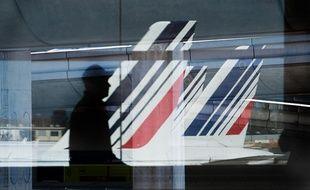 Grève à Air France le 15 septembre 2014.