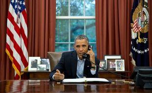 Barack Obama, le 1er novembre 2014.
