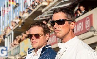 Matt Damon et Christi Bale dans «Le Mans 66» de James Mangold