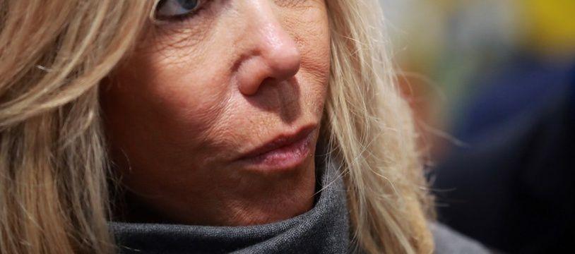 Brigitte Macron au lancement de la 31e opération des Pièces jaunes, à Orléans, le 8 janvier 2020.