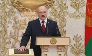 Le président du Bélarus Alexandre Loukachenko, le 6 novembre 2015 à Minsk