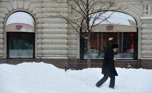 La couche de neige accumulée à Moscou atteint 65 centimètres, un record absolu pour un mois d'avril, ont annoncé les services météorologiques cités lundi par l'agence Interfax.