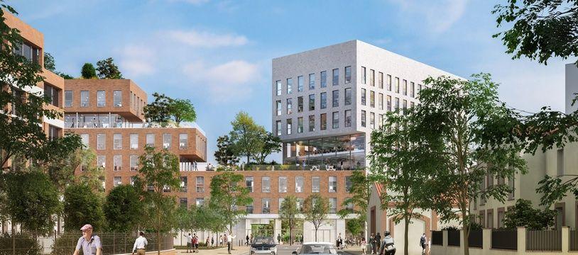 Le projet de construction de 13 000 m² de bureaux situés au cœur du projet d'urbanisme du Grand Matabiau.