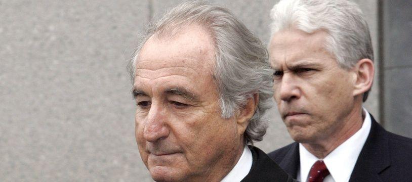 Bernie Madoff en mars 2009.