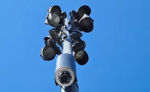 Les premières caméras de surveillance sont installées à Lille.