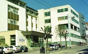 La clinique Chénieux à Limoges.