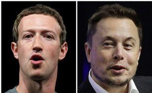 Mark Zuckerberg vs Elon Musk, duel de milliardaires.