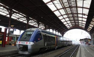Illustration de la grève à la SNCF.