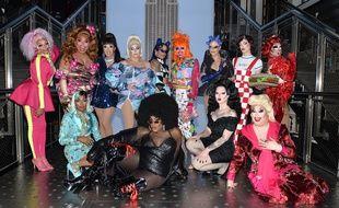 Les candidates de la douzième saison de RuPaul's Drag Race, à New York, en février 2020.