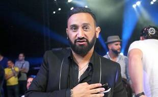 Cyril Hanouna, le 23 juin 2018 lors d'un combat de boxe.