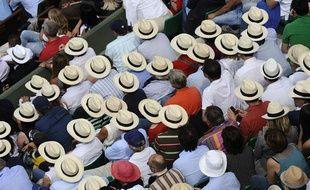Le public de Roland-Garros en 2011.