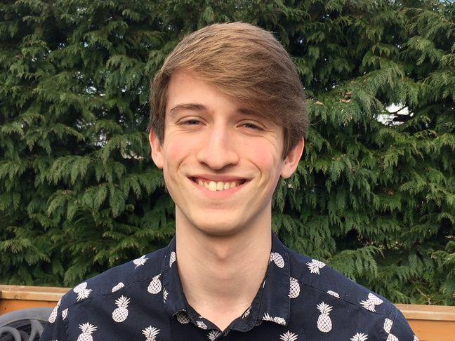 Matt, 18 ans, étudiant à Southampton.