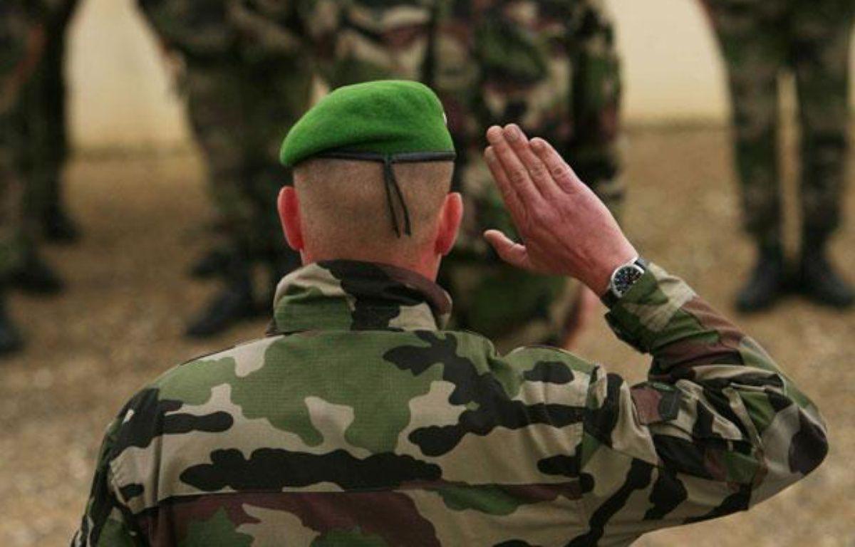 Illustration armée française: Un militaire de la Légion étrangère. – NICOLAS JOSE/SIPA