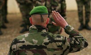 Illustration armée française: Un militaire de la Légion étrangère.