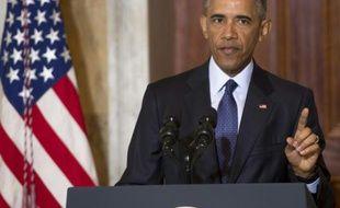 Barack Obama à Washington, le 14 juin 2016