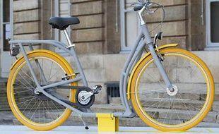 Le vélo Pibal dessiné par Starck pour Bordeaux