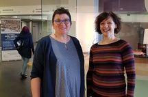 Strasbourg: Nadine Knezovic, du CHU, et Nicole Andrieu, de l'association Stop aux Violences Sexuelles