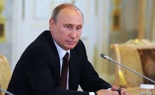 Vladimir Poutine, le 24 mai 2014.
