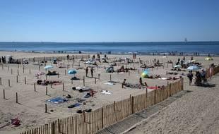 La plage de la Grande Motte, le 21 mai 2020.