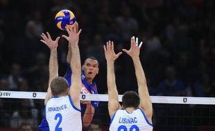 Stephen Boyer, révélation du dernier Euro avec l'équipe de France, est forfait pour le TQO de volley qui commence le 5 janvier 2020.