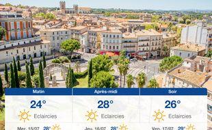 Météo Montpellier: Prévisions du mardi 14 juillet 2020